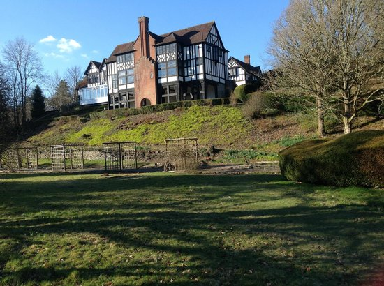Caer Beris Manor Hotel: Hotel from South
