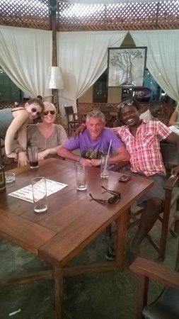 Crystal Bay Resort: Malindi con Gigi