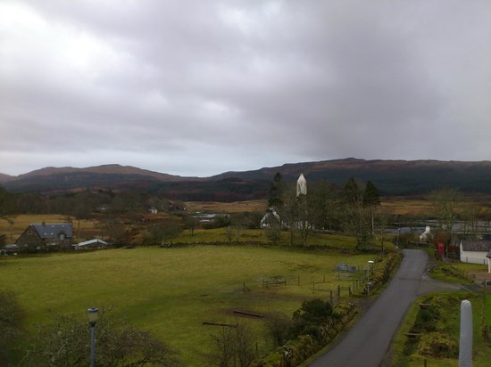 Bellachroy Hotel: View from room 3 before the sun came out!