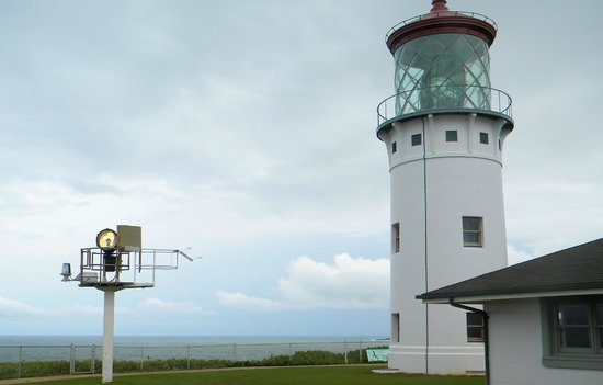 Kilauea Point National Wildlife Refuge: Restored lighthouse