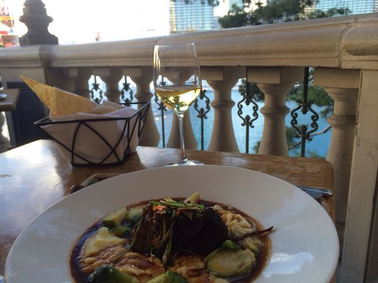 Todd English's Olives : Short ribs where delightful.