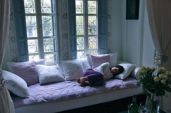 Riad Idra: a cozy corner