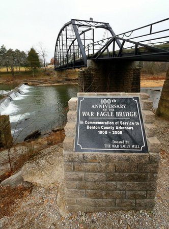 War Eagle Mill : War Eagle River HIstoric Landing