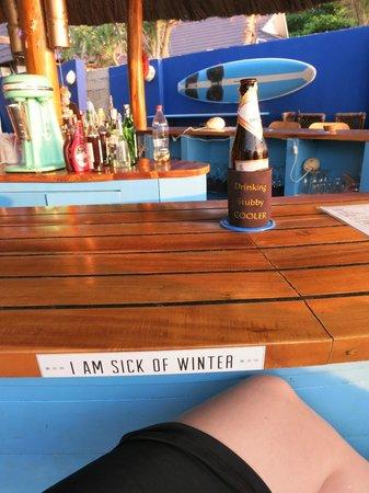 Rory's Beach Bar : Bar