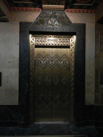 Buffalo City Hall: Elevator door