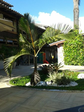 Hotel Casablanca: Jardim