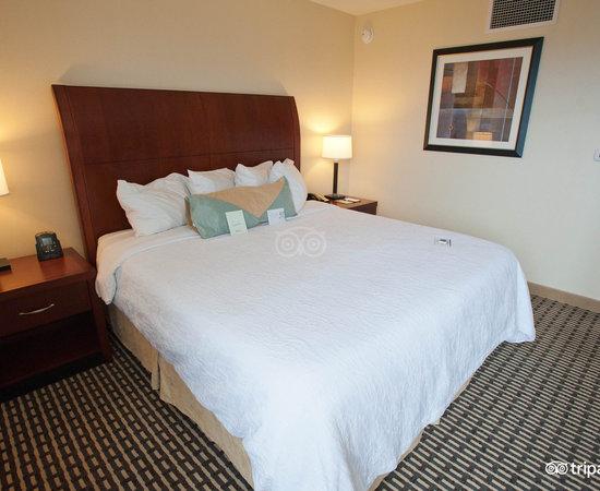 The Junior Suite at the Hilton Garden Inn Denver Downtown