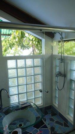 Hotel Pura Vida: badezimmer