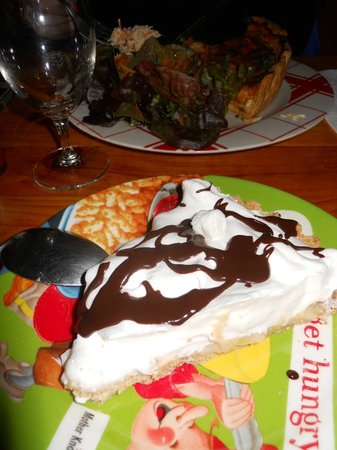 Restaurant L'Art Caddy : banofee pie