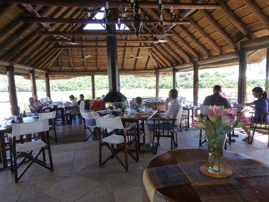 Dining room picture of pumba private game reserve for Best private dining rooms cape town