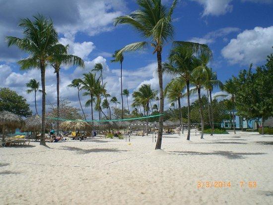 Iberostar Hacienda Dominicus : Vue de la plage
