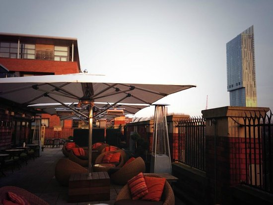 Great John Street Hotel : Roof Terrace