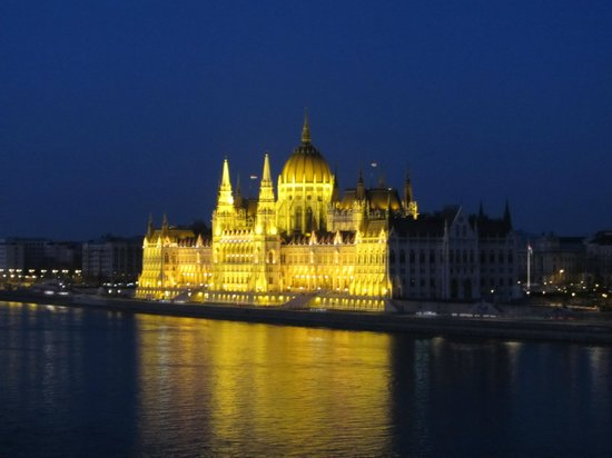 Boutique Hotel Victoria Budapest : Vue de la chambre