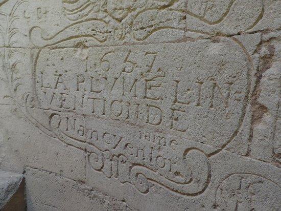 Saint-Gilles, France: Gravure des ouvriers au XVIIème siècle