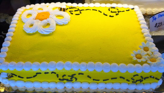 Huron Mountain Bakery: 1/4 Sheet Cake