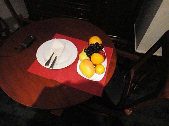 Melia Lima: recepcion en la habitacion