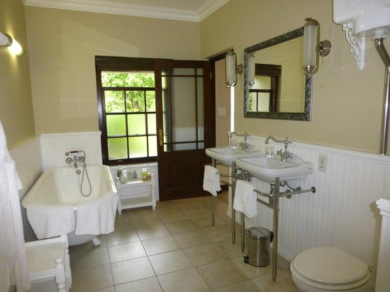 Schoone Oordt Country House : Bathroom