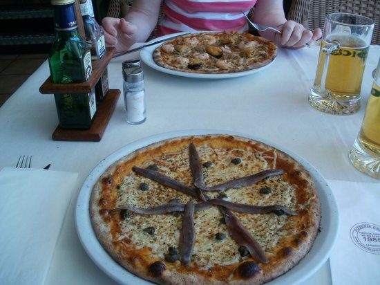 Pizzeria Capri: Pizza Romana