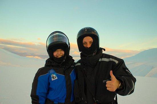 Spitzbergen Adventures: It was me and my girl :)