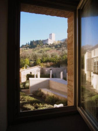 Nun Assisi Relais & Spa Museum: View from our room