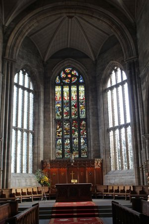 St. Michael's Parish Church: stunning windows with morestained glass