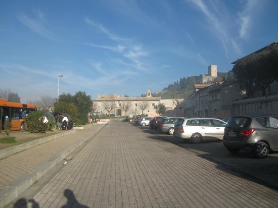 Nun Assisi Relais & Spa Museum: View of the outside of the Hotel