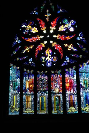 St. Michael's Parish Church: magnificent stained glass