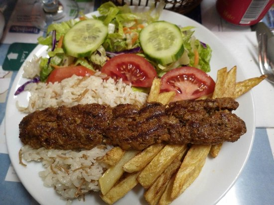 Mehmet and Ali Baba Kebab House : Hum.. So goooood