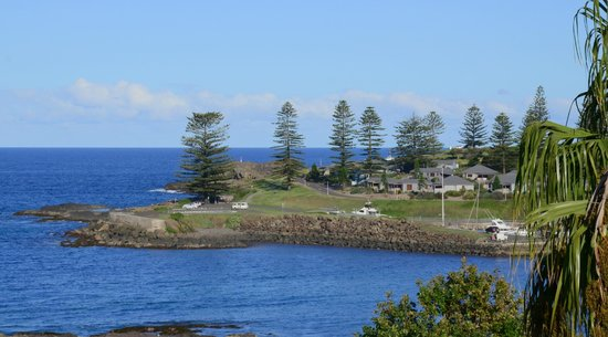 The Sebel Harbourside Kiama: The best feature of the Sebel - View from our balcony