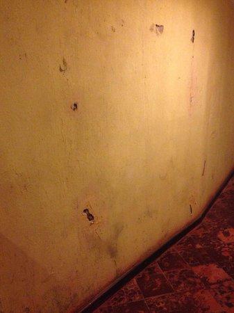 Barra da Lagoa Hotel : Las paredes camino a la habitación...