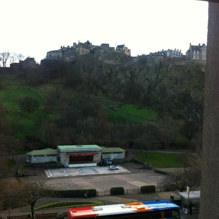 Royal Overseas League: view from castle suite