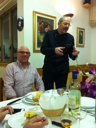 Hotel Santa Caterina: lo chef Fabio