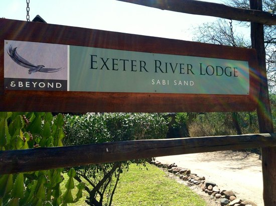 andBeyond Exeter River Lodge : The entrance