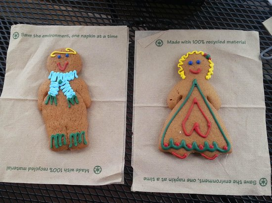 The Gingerbread Factory : His and Hers Gingerbread