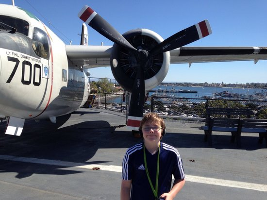USS Midway Museum: On the flight deck