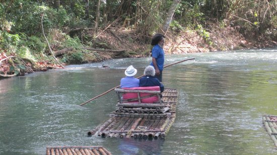 Martha Brae River: typical raft experience