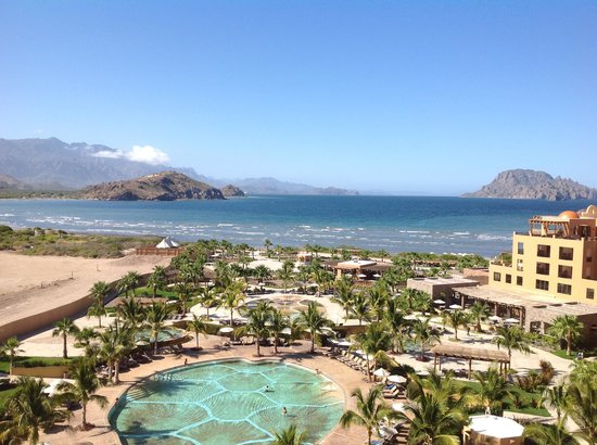 Villa del Palmar Beach Resort & Spa at The Islands of Loreto: View from our top floor suite