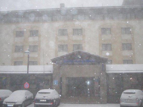 Melia Sol y Nieve: sneeuw