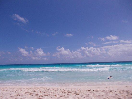 Bel Air Collection Resort & Spa Cancun: la mer le matin  du balcon