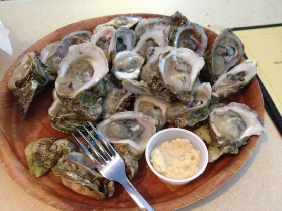 Magnolia's Oyster Bar & Cafe: Nice salty oysters in March