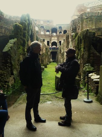 New Rome Free Tour: Under the colosseum with Vito!