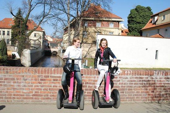 Segway Point - Prague Segway Tours : Our fab guide, Klara