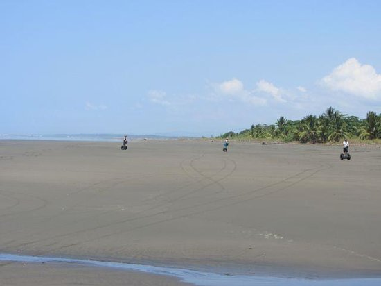 Segway Tours of Costa Rica : Riding Segways on the beach