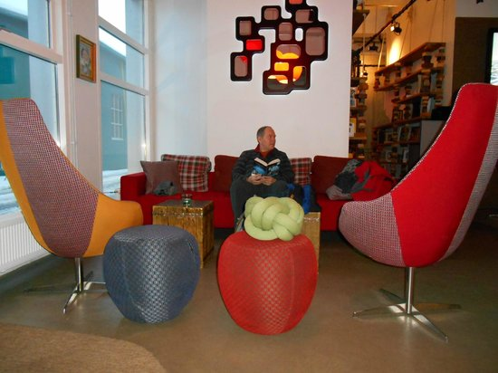 Icelandair Hotel Reykjavik Marina : Lobby area