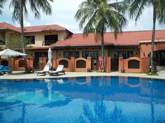 Casa del Mar, Langkawi: プールサイド