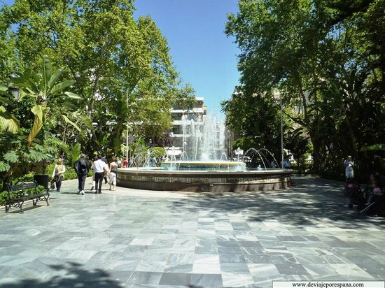 Parque de La Alameda: The Alameda fountain