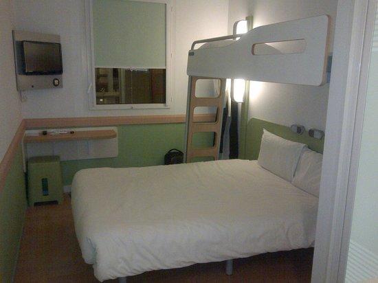 Ibis budget Lugano Paradiso: Letto