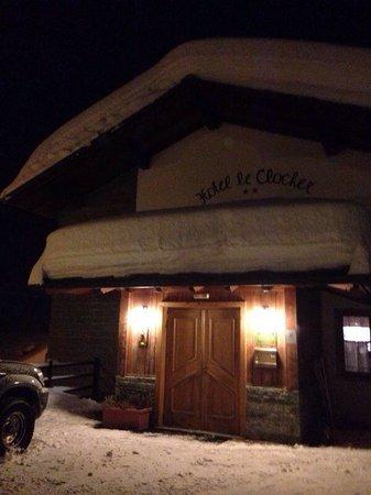 Hotel Le Clocher: Entré
