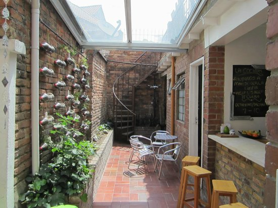 Kozii hostel D.C: Courtyard