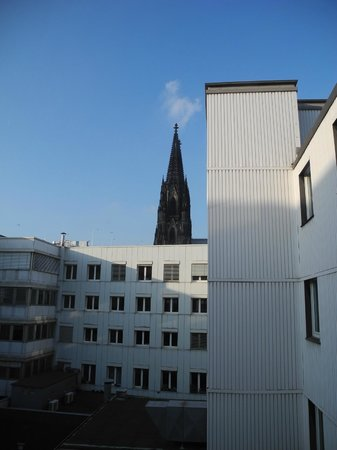 Senats Hotel : View of Dom from room 218